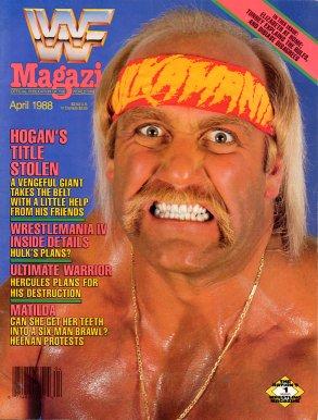 WWF Magazine - April 1988