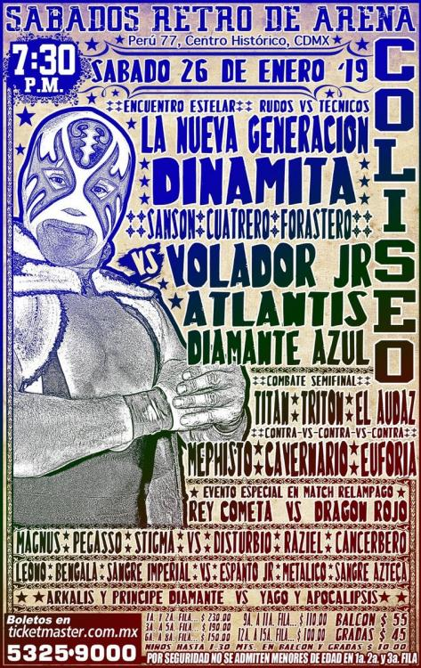 CMLL Sabados De Coliseo (January 26, 2019)