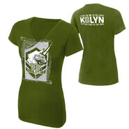 Kaitlyn 8th Militia Women's V-Neck Authentic T-Shirt