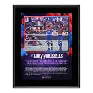 Street Profits Survivor Series 2020 10 x 13 Commemorative Plaque