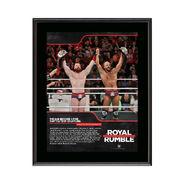 The Bar Royal Rumble 2018 10 x 13 Commemorative Photo Plaque