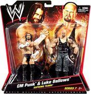 WWE Battle Packs 7 CM Punk & Luke Gallows