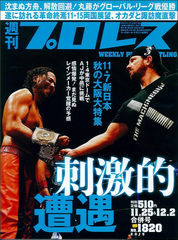 Weekly Pro Wrestling No. 1820