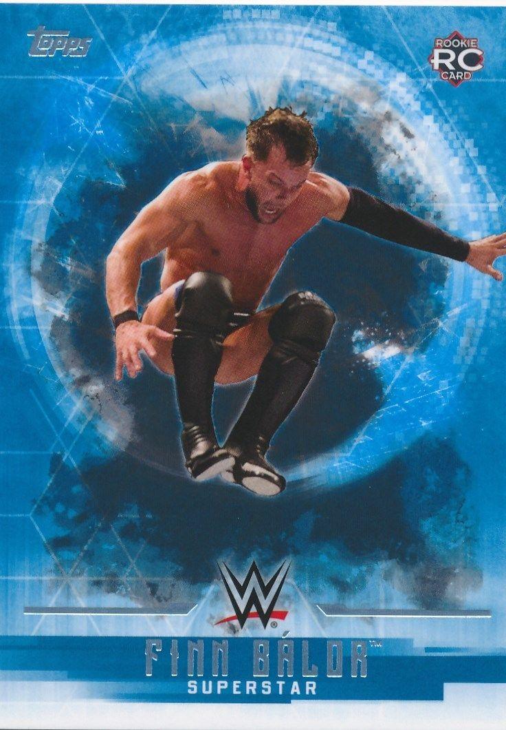 2017 WWE Undisputed Wrestling Cards (Topps) Finn Bálor (No.14)