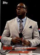 2018 WWE Wrestling Cards (Topps) Booker T 16