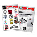 WWE Assorted Superstar Sticker Sheet