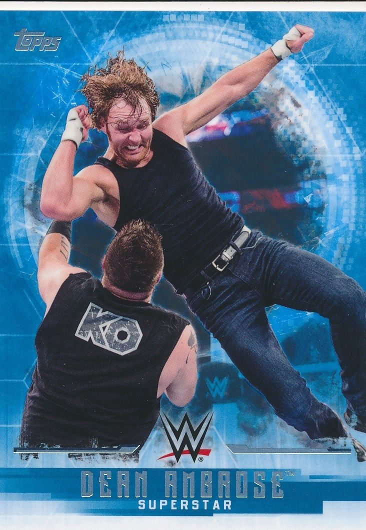2017 WWE Undisputed Wrestling Cards (Topps) Dean Ambrose (No.12)