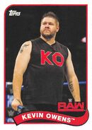 2018 WWE Heritage Wrestling Cards (Topps) Kevin Owens 40