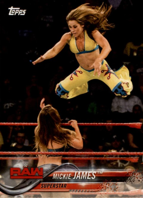 2018 WWE Wrestling Cards (Topps) Mickie James (No.58)