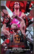 WrestleMania 13 Bret Hart vs. Steve Austin Legendary Moments Poster