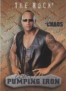 2004 WWE Chaos (Fleer) The Rock (No.94)