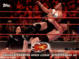 2018 WWE Road to WrestleMania Trading Cards (Topps) Brock Lesnar (No.43)