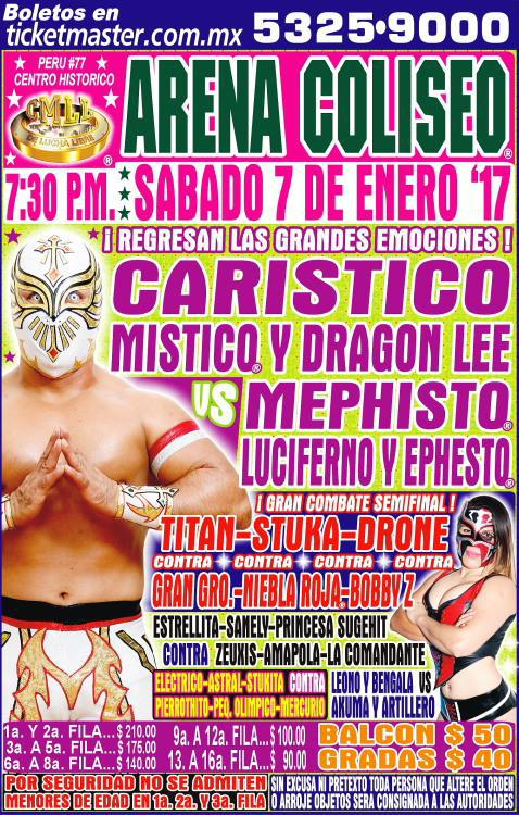 CMLL Sabados De Coliseo (January 7, 2017)