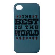 CM Punk Best In The World iPhone 4 Case