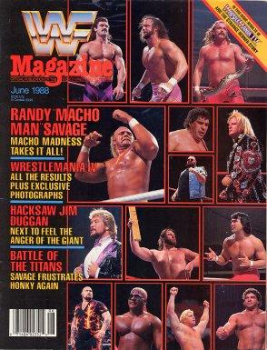 WWF Magazine - June 1988