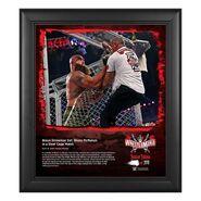 Braun Strowman WrestleMania 37 15x17 Commemorative Plaque