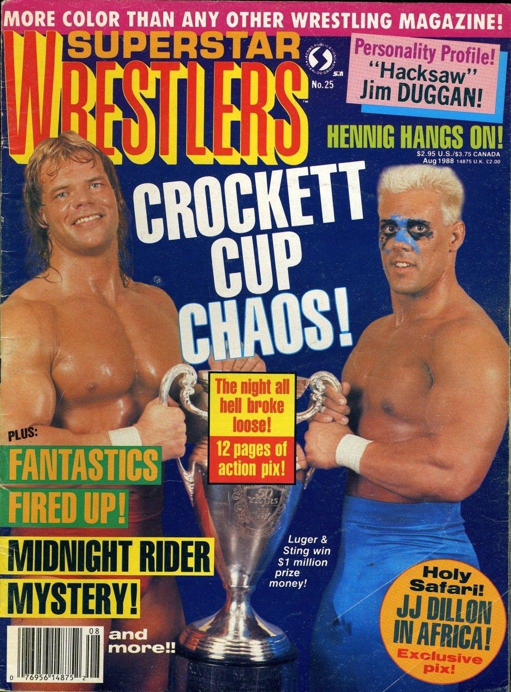 Superstar Wrestlers - August 1988