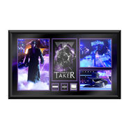 Undertaker Thank You Taker WrestleMania 33 Unsigned Commemorative Plaque