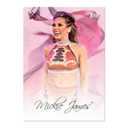 2019 WWE Mother's Day (Topps On-Demand) Mickie James 5