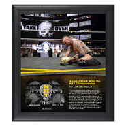 Aleister Black NXT TakeOver New Orleans 15 x 17 Framed Plaque