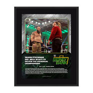 Braun Strowman Money In The Bank 2020 10 x 13 Limited Edition Plaque