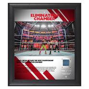 Daniel Bryan Elimination Chamber 2019 15 x 17 Framed Plaque w Ring Canvas
