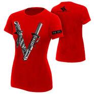 Shinsuke Nakamura The Vibe Women's Authentic T-Shirt