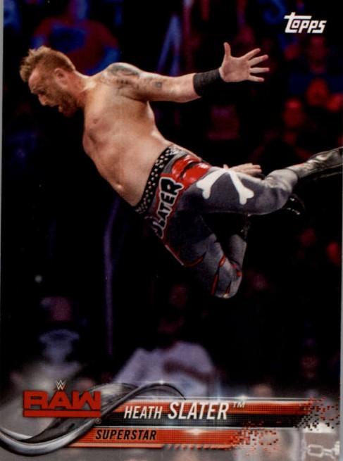 2018 WWE Wrestling Cards (Topps) Heath Slater (No.36)