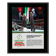 Bludgeon Brothers Greatest Royal Rumble 2018 10 x 13 Photo Plaque