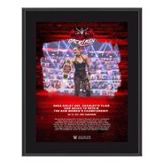 Rhea Ripley WrestleMania Backlash 2021 10x13 Commemorative Plaque