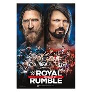 Royal Rumble 2019 Poster (Merch)