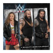 WWE Superstars 2020 Wall Calendar