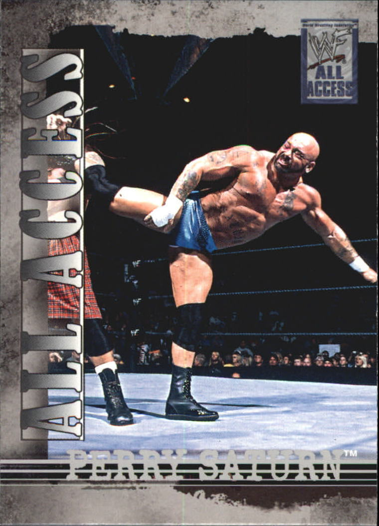2002 WWF All Access (Fleer) Perry Saturn (No.44)