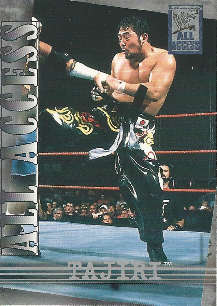 2002 WWF All Access (Fleer) Tajiri (No.3)