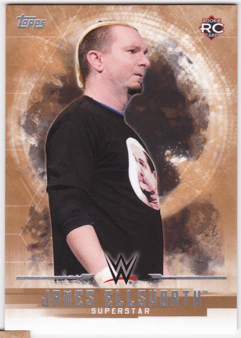2017 WWE Undisputed Wrestling Cards (Topps) James Ellsworth (No.16)