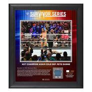Adam Cole Survivor Series 2019 15x17 Limited Edition Plaque