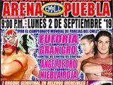 CMLL Lunes Arena Puebla (September 2, 2019)
