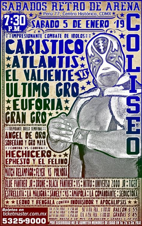 CMLL Sabados De Coliseo (January 5, 2019)