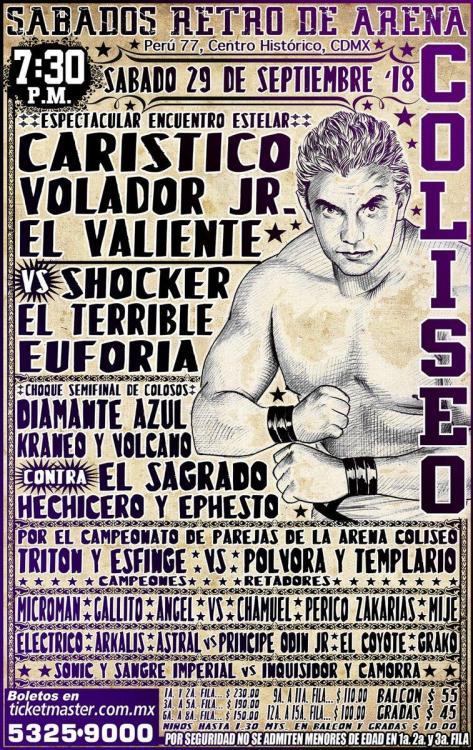 CMLL Sabados De Coliseo (September 29, 2018)