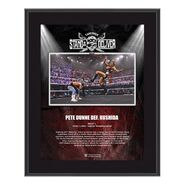 Pete Dunne NXT TakeOver Stand & Deliver 10x13 Commemorative Plaque