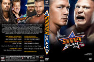 Wwe summerslam 2014 dvd cover v1 by chirantha-d7vw4ly