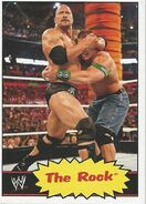 2012 WWE Heritage Trading Cards The Rock 33