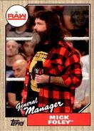 2017 WWE Heritage Wrestling Cards (Topps) Mick Foley 29