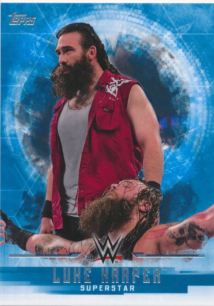 2017 WWE Undisputed Wrestling Cards (Topps) Luke Harper (No.23)