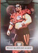 2010 WWE Platinum Trading Cards Road Warrior Hawk 36