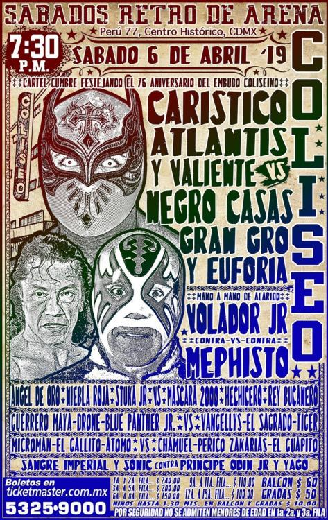 CMLL Sabados De Coliseo (April 6, 2019)