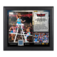 WWE TLC 2015 New Day 15 x 17 Photo Collage Plaque