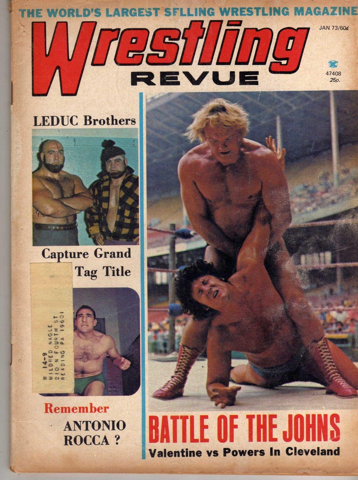 Wrestling Revue - January 1973
