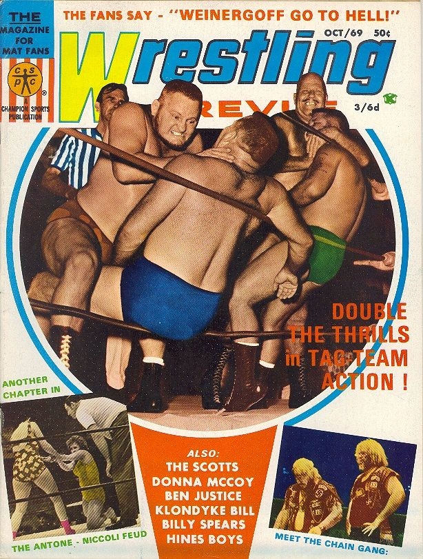 Wrestling Revue - October 1969