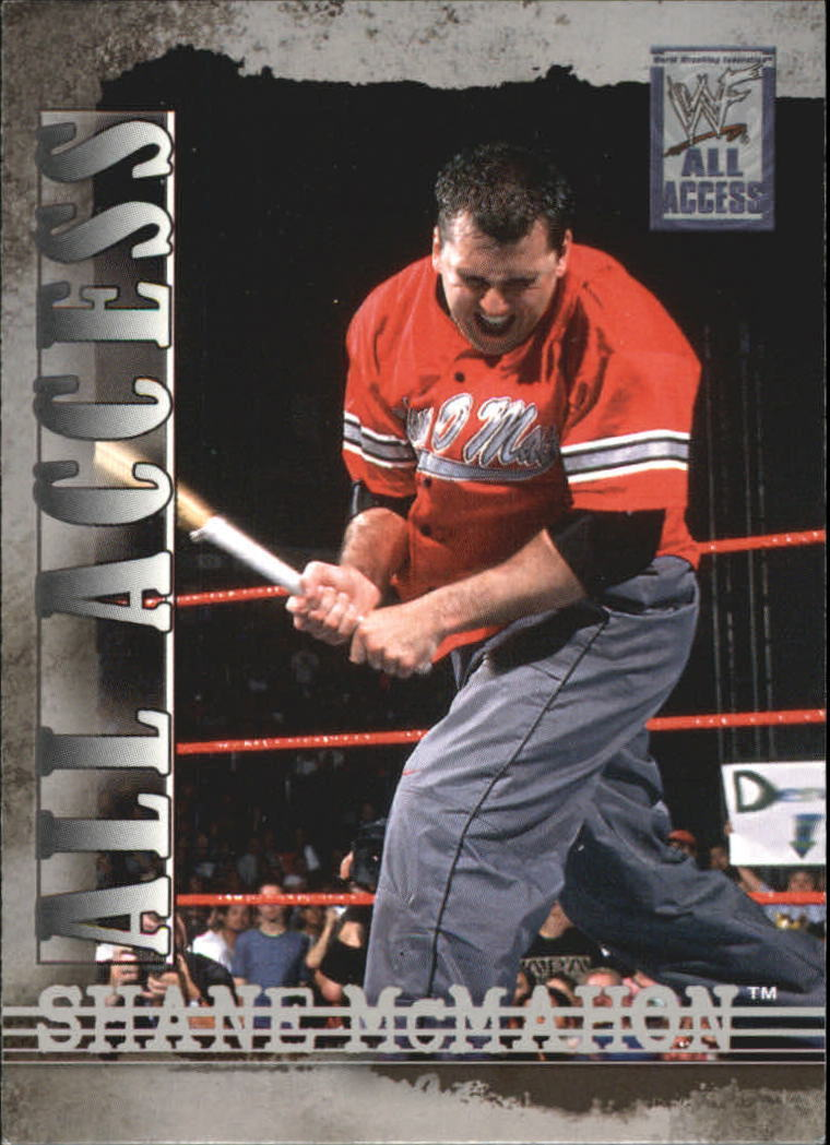 2002 WWF All Access (Fleer) Shane McMahon (No.2)